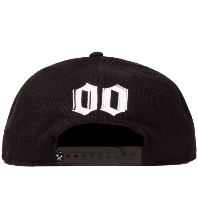 Black Edgy Snapback Ballcap