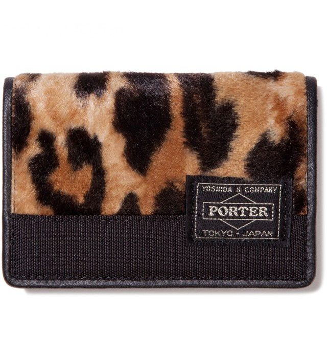 Leopard Mombasa Canvas Card Case