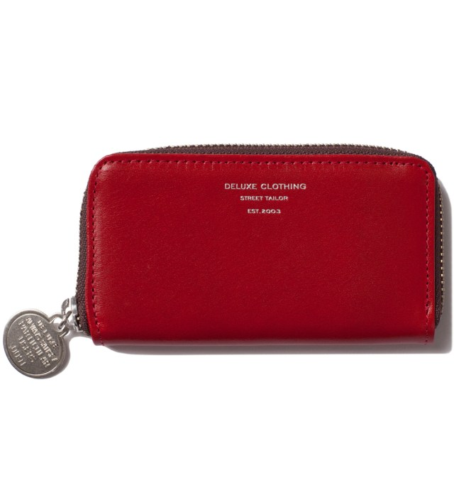 Red Heads Or Tails Coin Purse