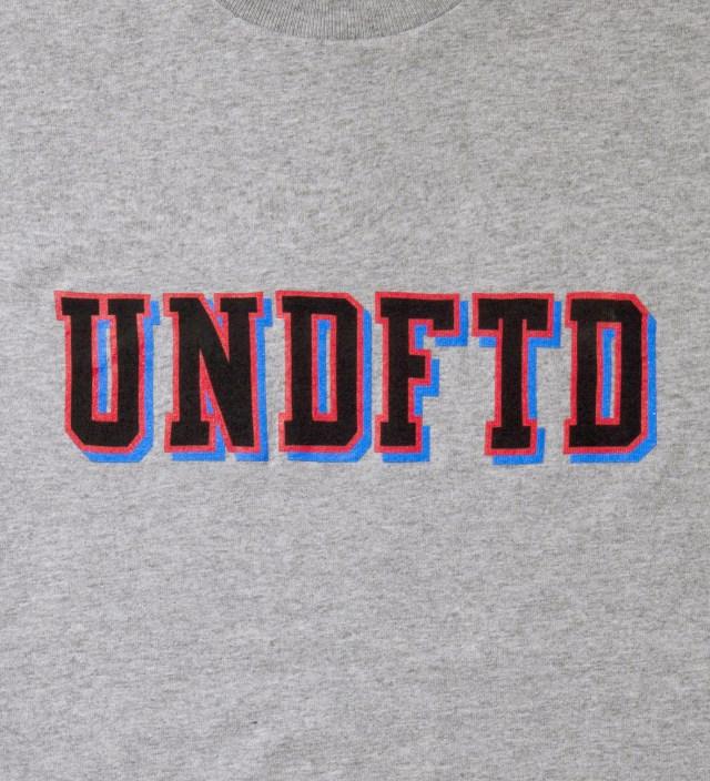Heather Grey SS UNDFTD Block T-Shirt