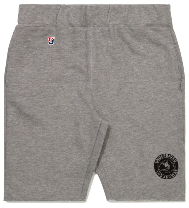 Heather Grey Mascot Circle Shorts
