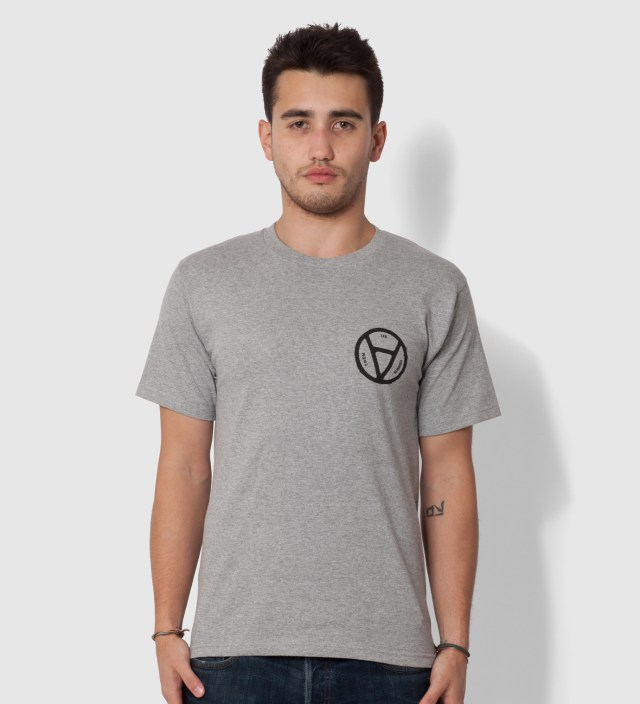 Heather Grey V Anarchy T-Shirt