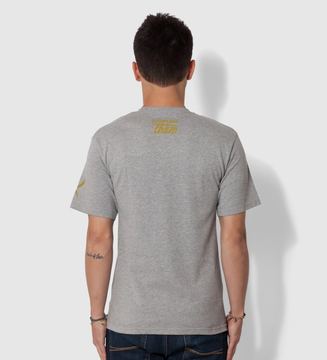 Heather Grey Restrained T-Shirt