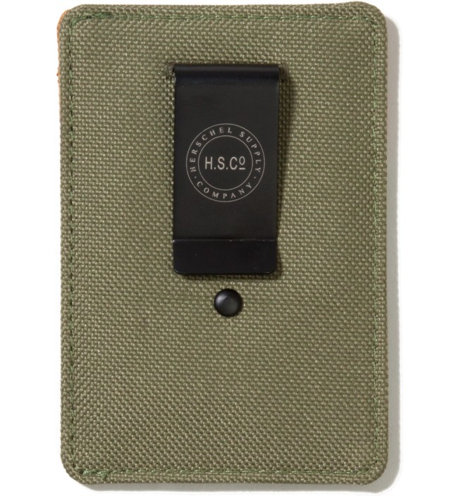 Olive Drab Raven Card Holder