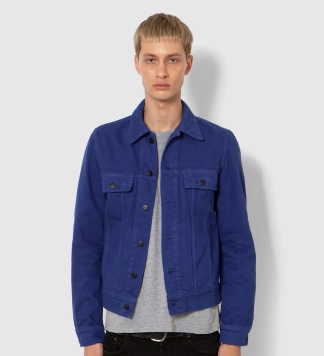 Lee® KRISVANASSCHE Blue Denim Inspired Blouson Jacket