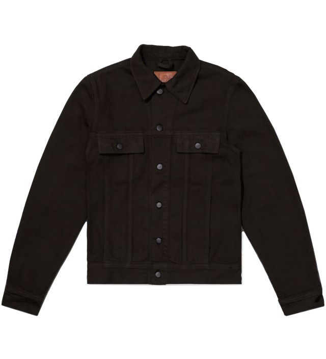 Lee® KRISVANASSCHE Dark Brown Denim Inspired Blouson Jacket