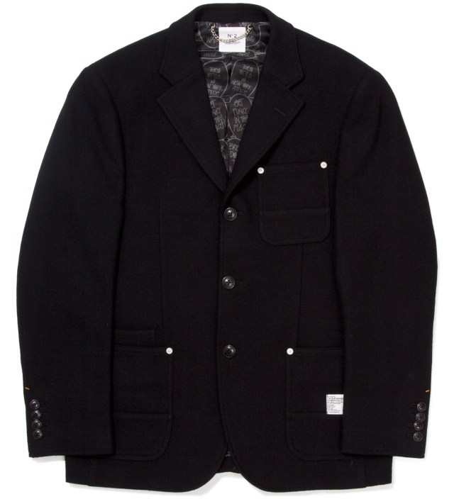 "Stussy x The Heartbreaker Black ""Rick"" 3B Jacket"