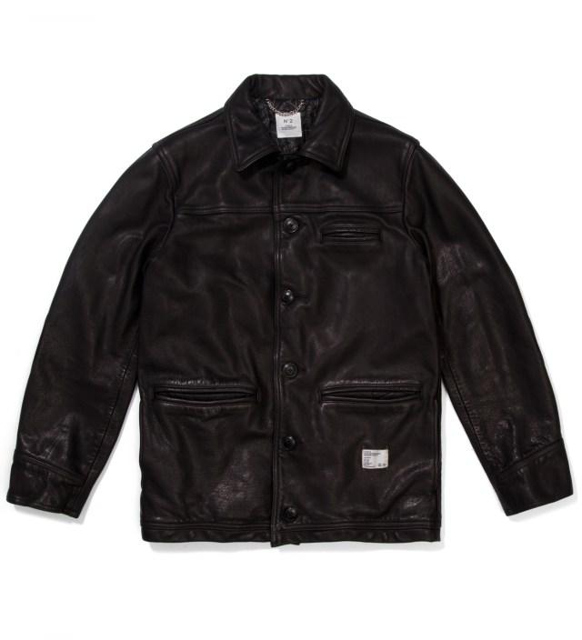 "Stussy x The Heartbreaker Black ""Jay"" Carcoat Jacket"