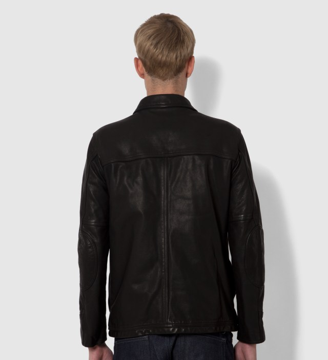 "Stussy x The Heartbreaker Black ""Jay"" Carcoat Jacket"