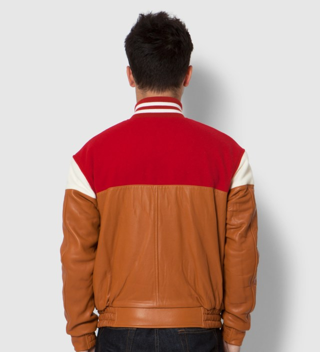 Red Mixed Jacket