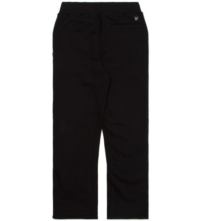 Black Drawstring Leg Pants
