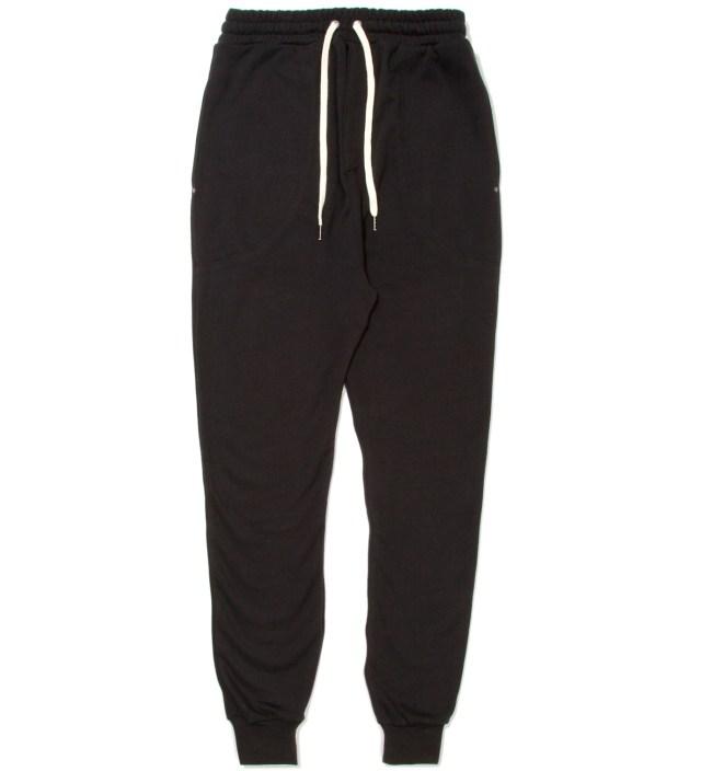 Black Zespy Track Pants