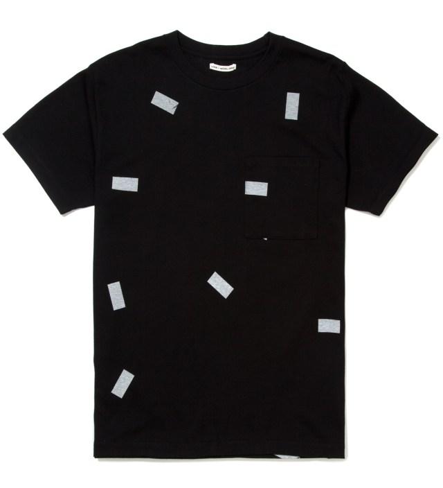 Black The Davinder Root Retro T-Shirt