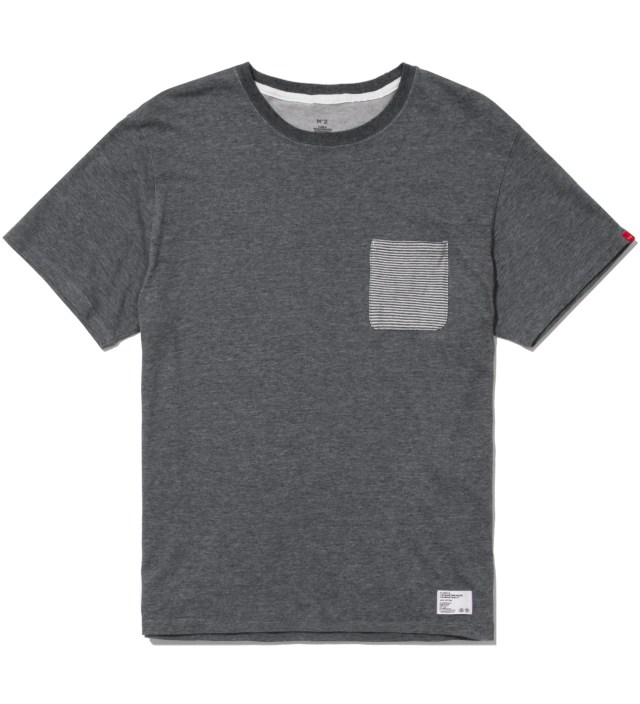 "Stussy x The Heartbreakers Charcoal ""Lee"" Pocket T-Shirt"