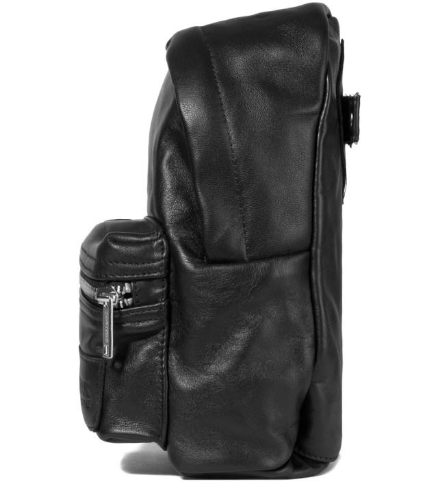 Eastpak KRISVANASSCHE Black Leather Mini Backpack Pouch
