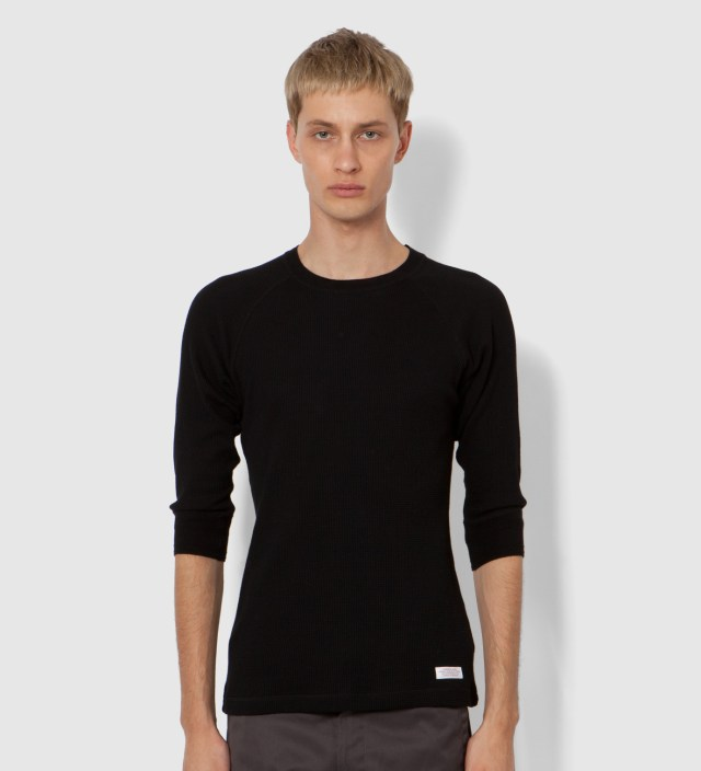 Black Winston Crewneck Shirt
