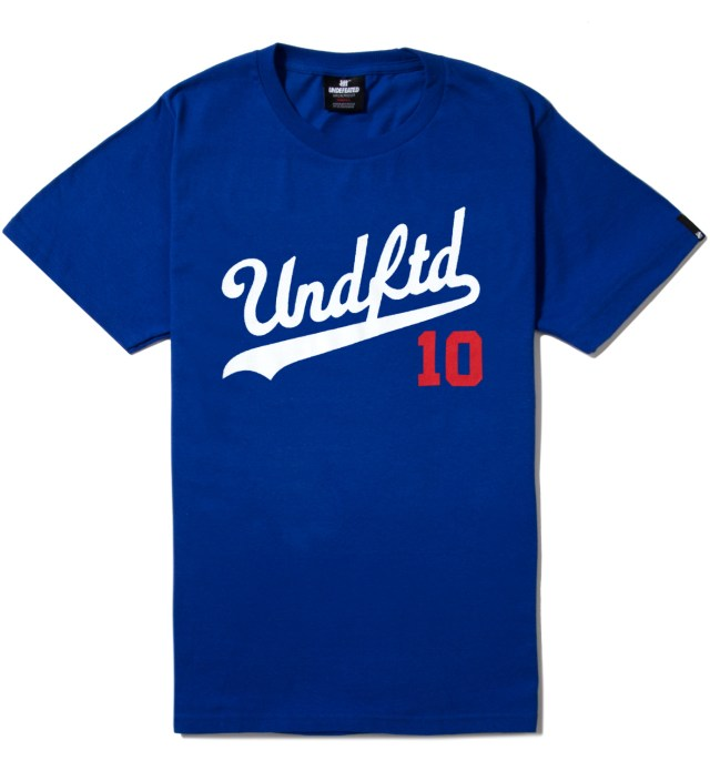 Royal Blue SS UNDFTD 10 T-Shirt