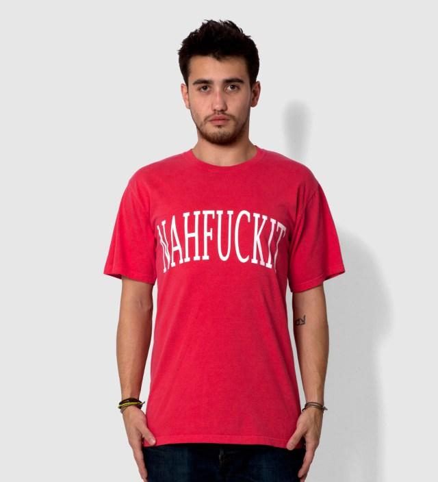 Coral NAHFUCKIT T-Shirt