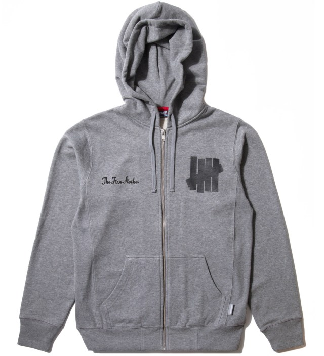 Grey Heather Fightin' Champs Hoodie