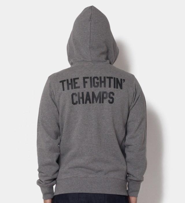 Grey Heather Fightin' Champs Hoodie