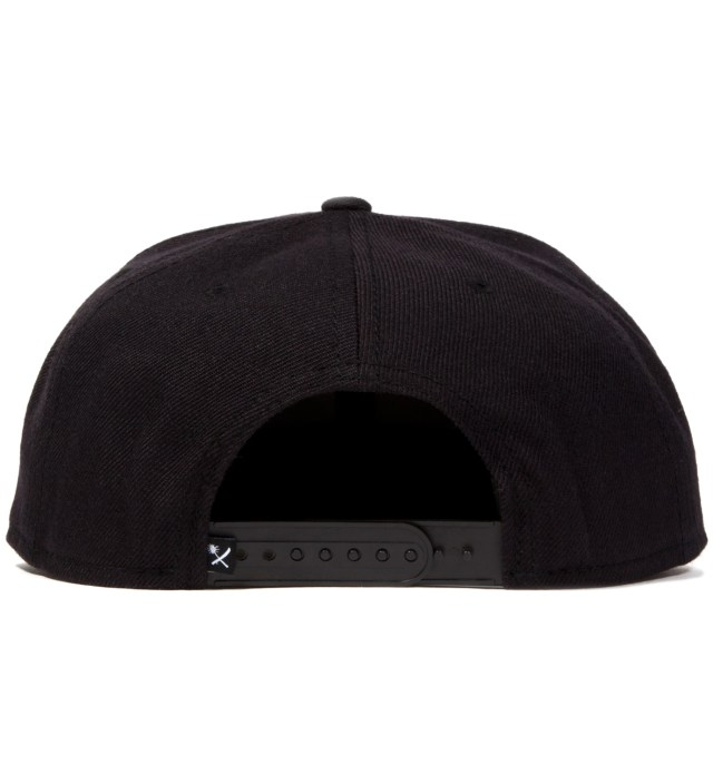 Black Magnum Snapback Ballcap