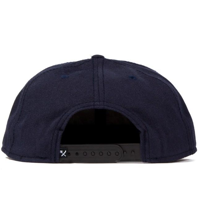 Navy Magnum Snapback Ballcap