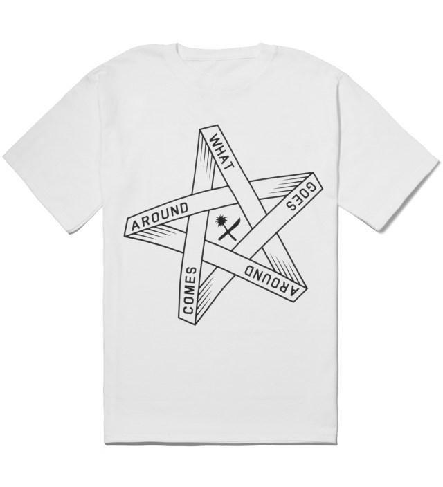 White Goes Around T-Shirt
