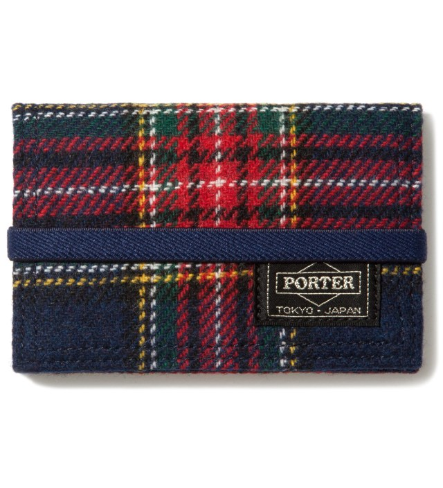 Navy/Gray Band Card Case