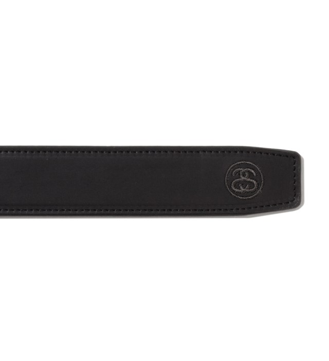 "Stussy x The Heartbreakers Black ""Keith"" Leather belt"