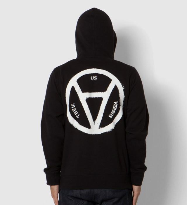 Black V Anarchy Zip Up