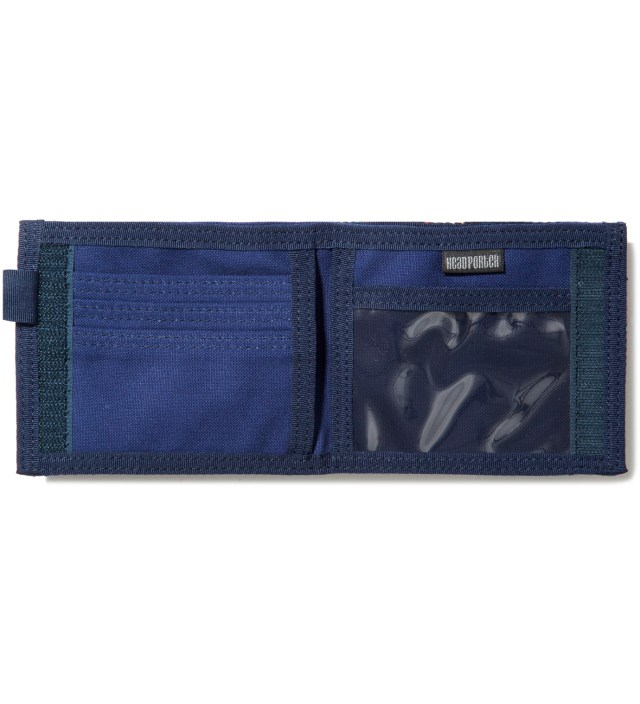 Navy/Gray Lesson Wallet (S)