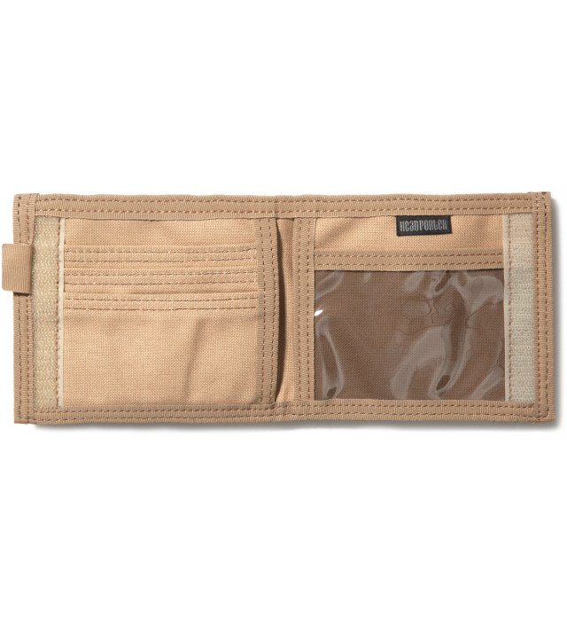 Beige/White Lesson Wallet (S)