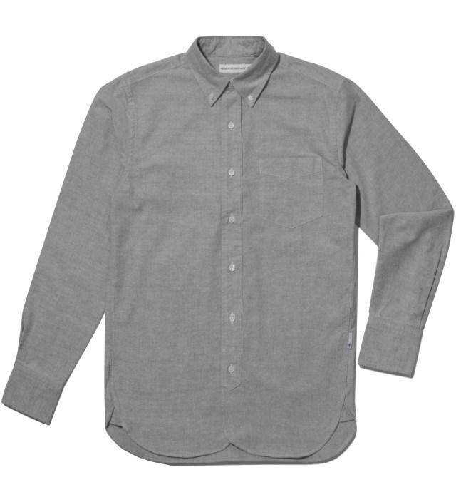 Grey Oxford Shirt