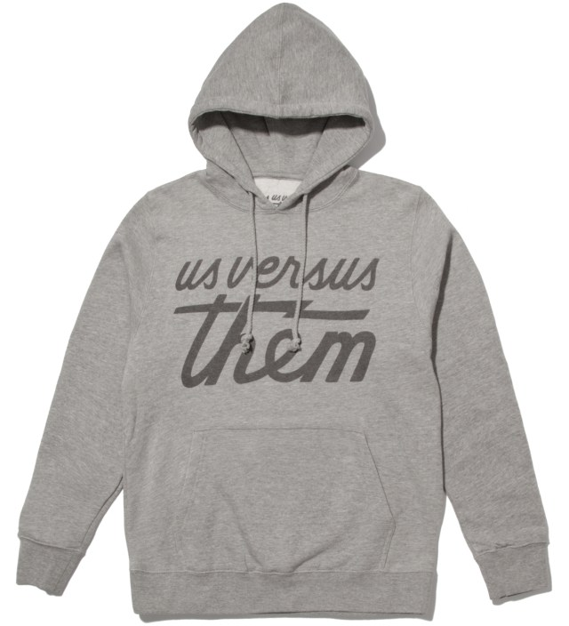 Heather Grey Magnum Tonal Hoodie