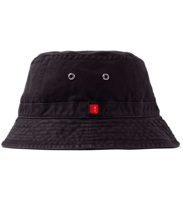"Stussy x The Heartbreakers Black ""James"" Canvas Jungle Hat"