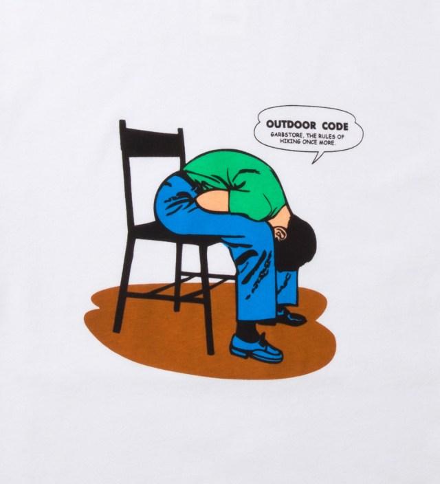 White Hiking Rules T-Shirt