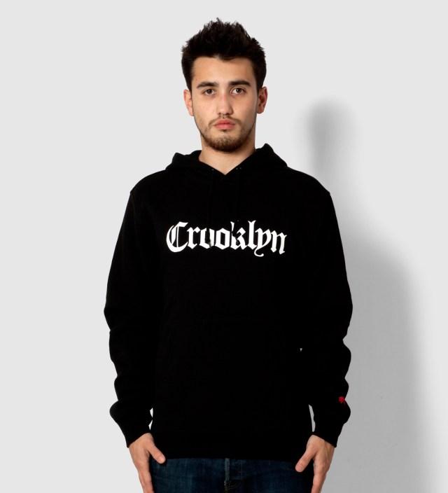 Black Crooklyn Hoodie