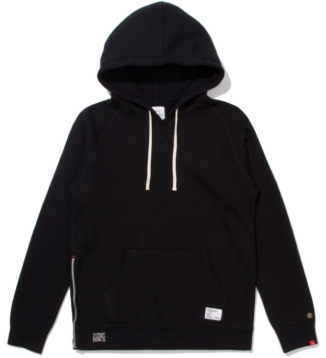 "Stussy x The Heartbreakers Black ""Russell"" Pullover Parka Hoodie"