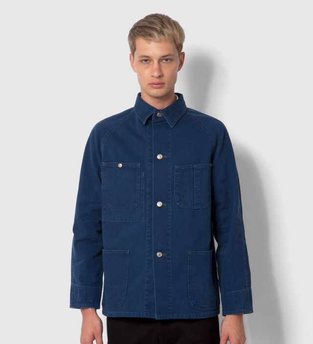 Navy Duck Coverall Jacket
