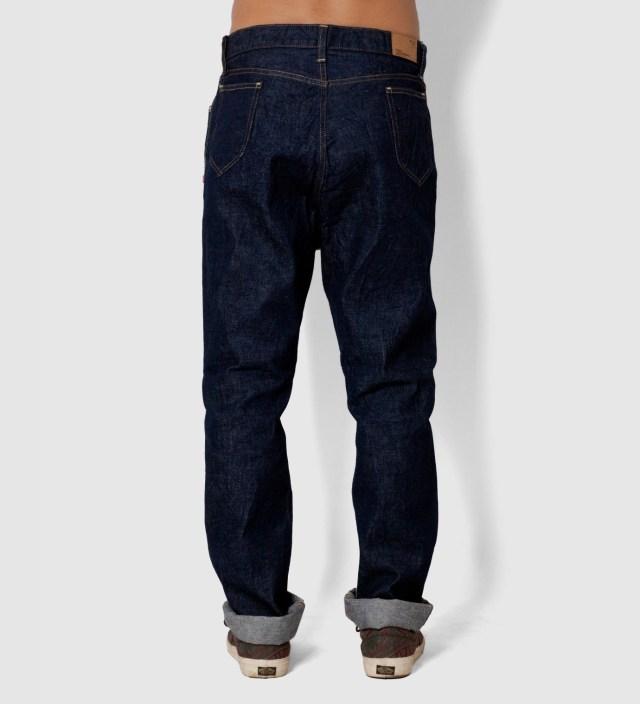 "Indigo Bedwin Original Fit ""Mike"" Denim Jeans"