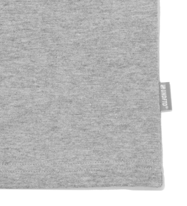 Heather Grey Fighting Pocket Long Sleeve T-Shirt