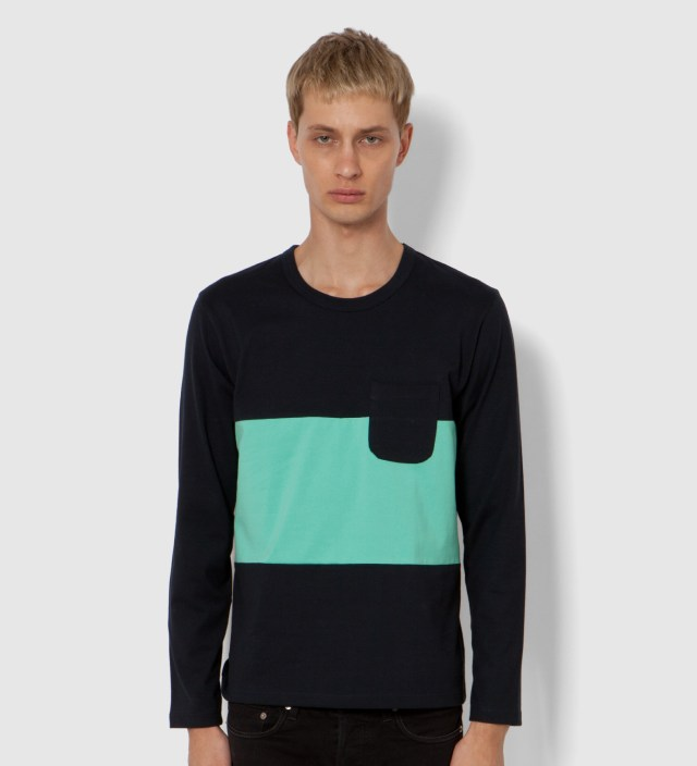 Tricolor #9 Long Sleeve T-Shirt