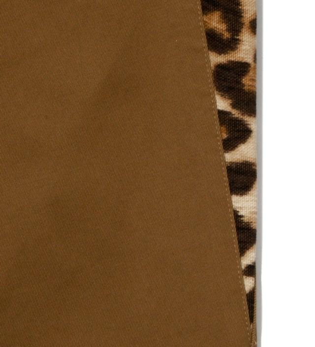 Ocher Chino Leopard Pants