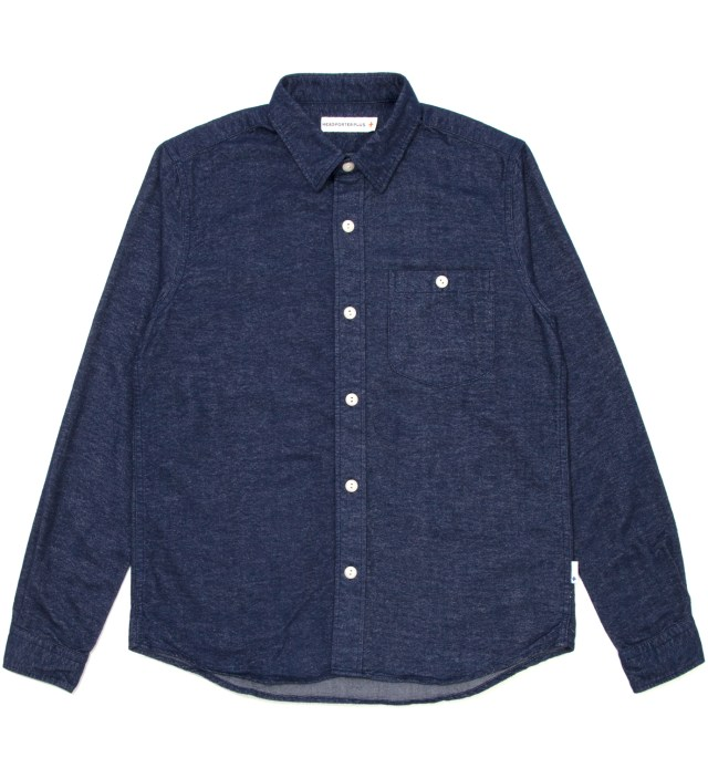Navy Plane Nel Shirt