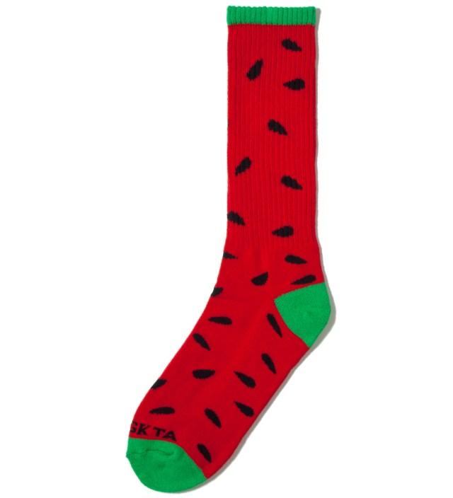 Red/Green Watermelon Sock