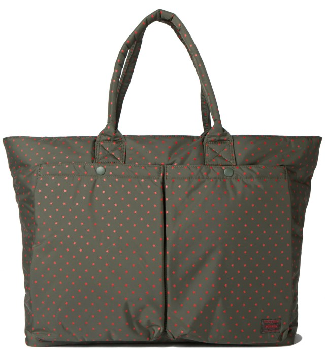 Olive Stellar Tote Bag (XL)