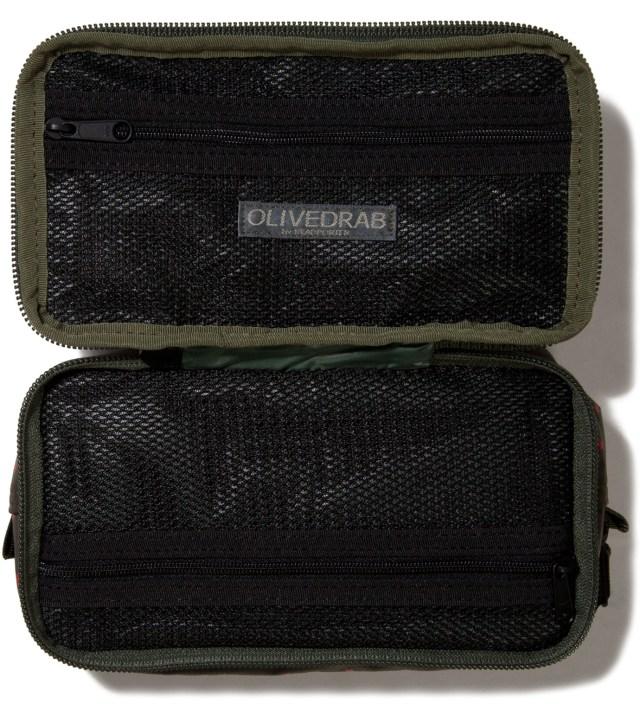 Olive Stellar Cosmetic Case