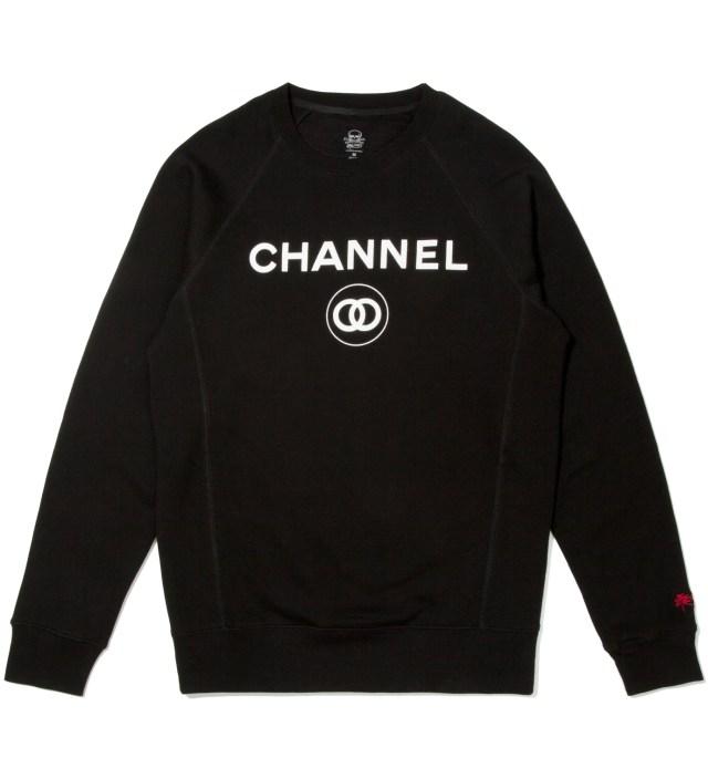 Black Channel Zero Crewneck