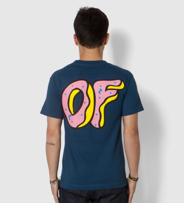 Navy Pink OF Donut T-Shirt