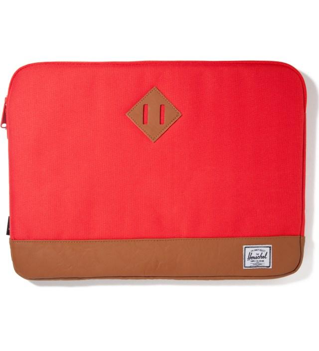 """Red Heritage 15"""" Macbook Sleeve"""